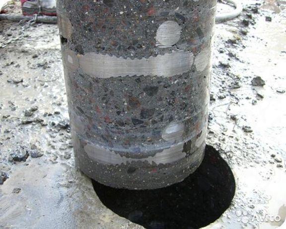Алмазне свердління(буріння) отворів діаметром до 400мм