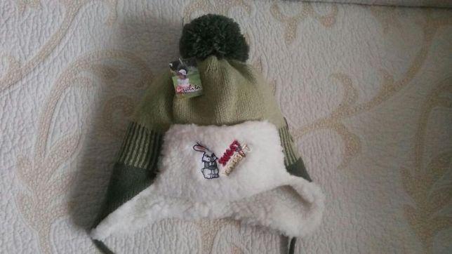Komplet zimowy czapka + szalik