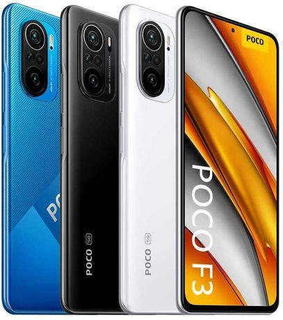 POCO F3 5G 6/128 GB - NOVO SELADO - 2 Anos Garantia