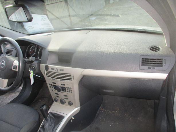 Opel Astra III H konsola Deska rozdzielcza airbag poduszki komplet
