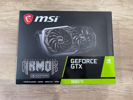 Karta graficzna MSI GeForce GTX 1660Ti OC 6GB GDDR