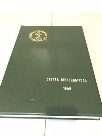 Cartas Hidrográficas 1968 - Instituto Hidrográfico