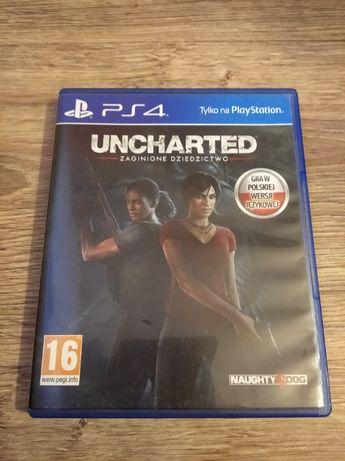 Gra PlayStation 4 UNCHARTED Zaginione Dziedzictwo PL PS4