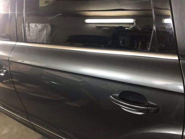 Audi Q7  A6 C7 Аллроуд хром накладки бампер.