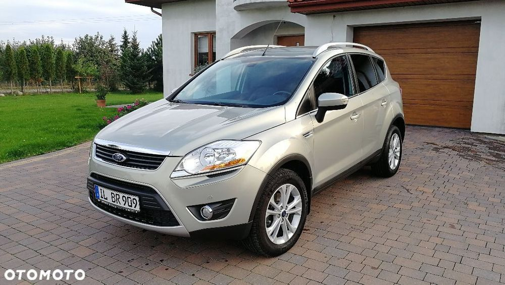 Ford Kuga Wyjatkowo Zadbany Suv Z Niemic 4x4 Titanium Черный Лес - изображение 1