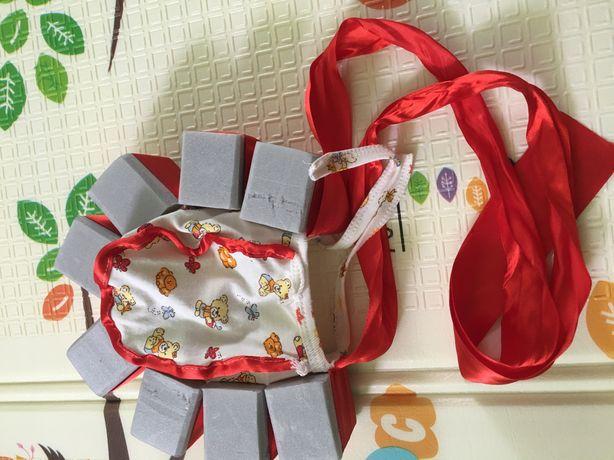 Шапочка с пенопластом для младенцев для купания .