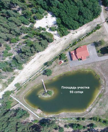 Жилой дом 320 м на 5 спален на участке 0,92 га, озеро с рыбой. ЛЕС.