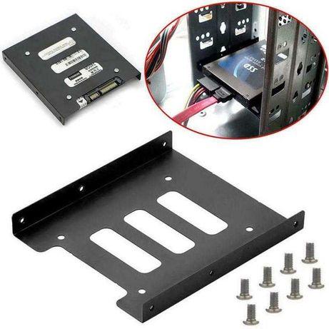 Переходник для SSD, НDD 2.5 на 3.5, металл.