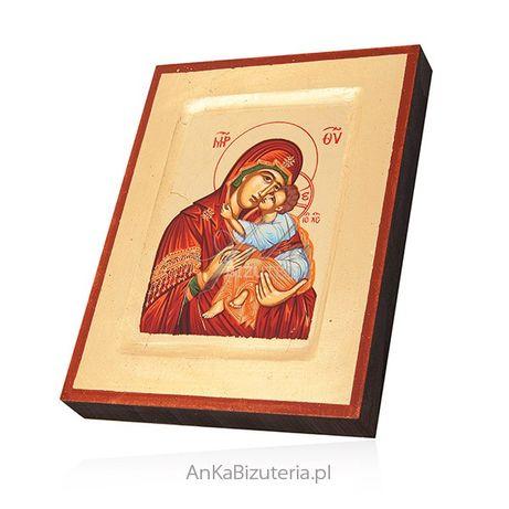 ankabizuteria.pl wisior z michałem archaniołem srebro Ikona Matka Boża
