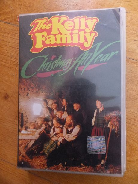 Kaseta VHS video THE KELLY FAMILY Christmas All Year oryginalna 1982