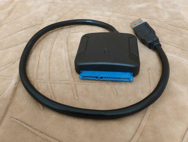 """Адаптер USB 3.0 для подключения SATA HDD/SDD 2,5""""/3,5"""" или CD/DVD"""