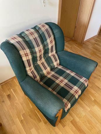 Duży wygodny miękki fotel