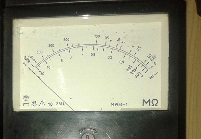 Мегаомметр Ф4102/1 (1987) новый
