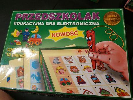 Edukacyjna gra elektroniczna przedszkolak