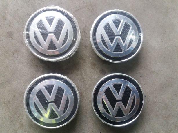 4 dekielki do felg aluminiowych vw 67mm 5G0.601.171