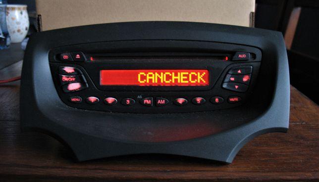 Radio Ford KA II 2 oryginalne z kodem