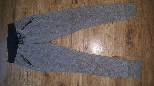Spodnie dresowe umbro XS szare zwężane