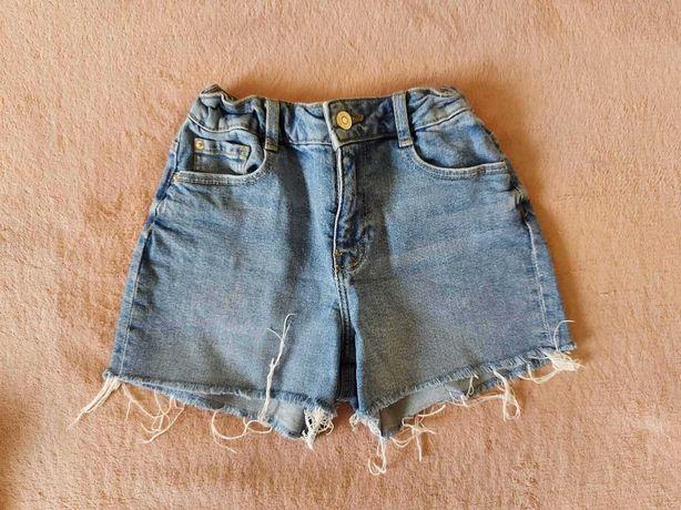 Джинсові шорти для дівчинки Mango р.152