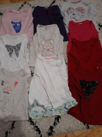 bluzki  rozmiar 116