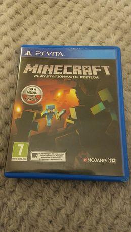 Gra ps-vita Minecraft