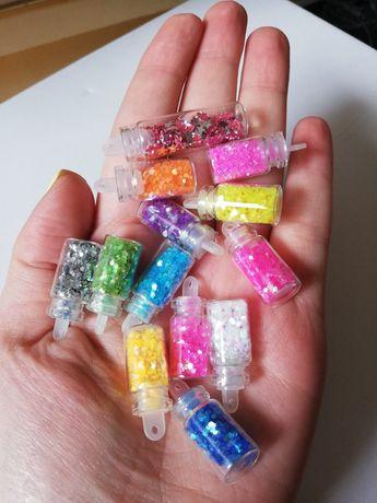 Decorações para unhas - brilhantes, glitter, gel, nail art