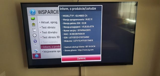 Telewizor LG 42LM660s 3d