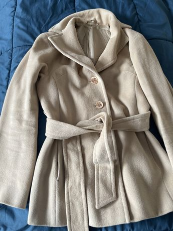 Продам кашемировое пальто размер xs/s