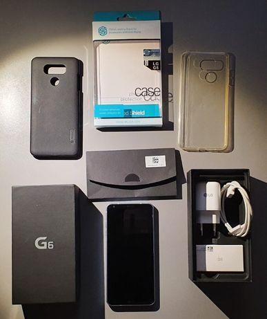 Smartfon LG G6 ThinQ niebieski opalizujacy - stan idealny