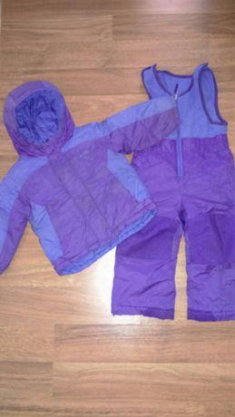 Зимний комплект полукомбинезон, курточка Columbia omni-shield Коламбия