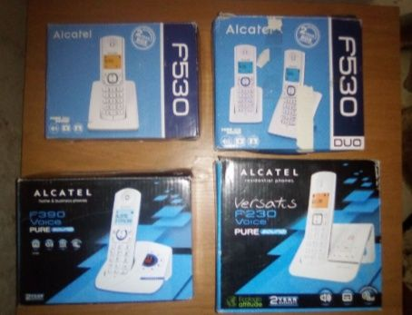 Нові радіотелефони Alcatel