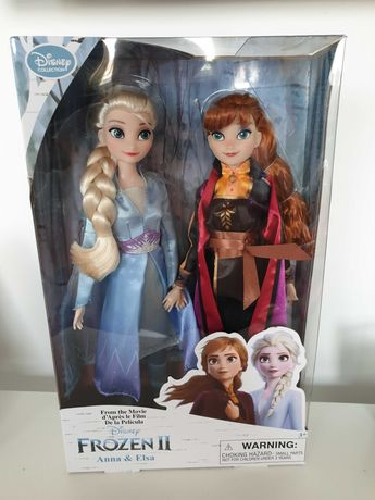 Lalka Elsa Anna Kraina lodu 2 Frozen 2 zestaw lalek lalki Disney