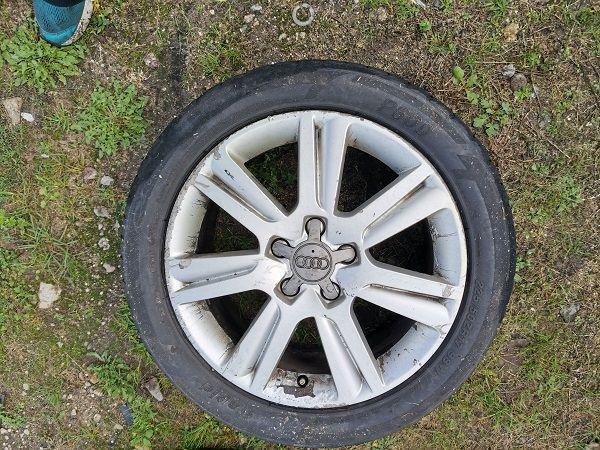 Audi A4 B8 A6 alufelga 17 5X112 ET45 oryginalna