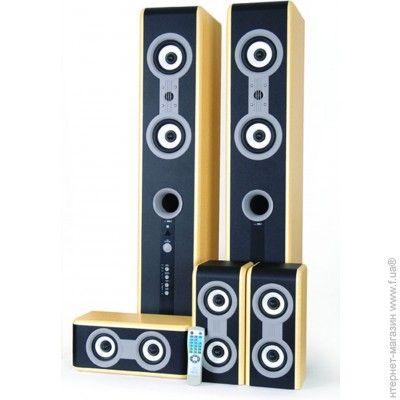 Аудио система 5.1 F&D HT-D80 beech