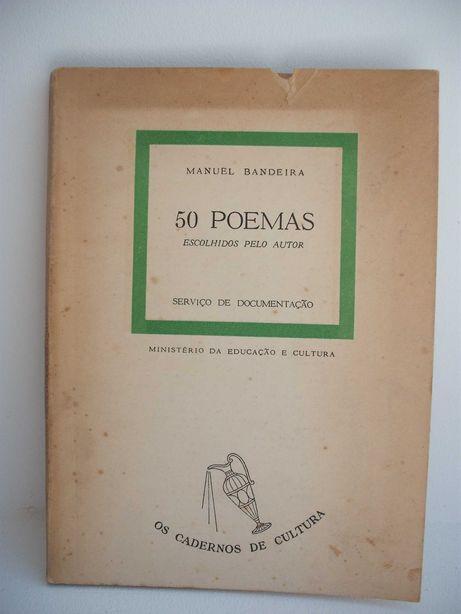 Manuel Bandeira Livro de Poesia 50 Poemas 1959