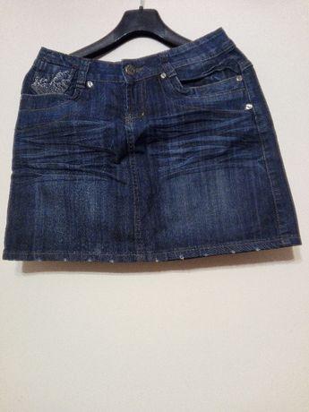 S damska jeansowa spódnica