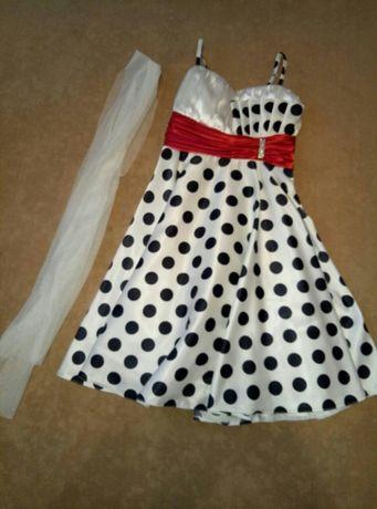 Нарядное платье(сарафан)