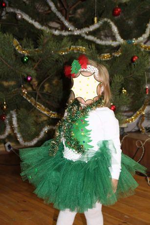 Костюм ялинки. Новогодний костюм елочки.  Новорічний костюм ялинки.