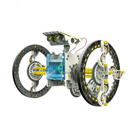 Робот конструктор 14в1 электрический на солнечной батарее игрушка с мо