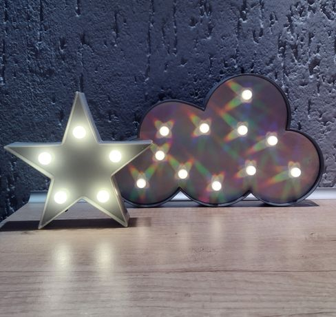 Lampki dekoracyjne - chmurka