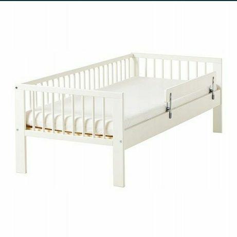 Zestaw łóżko IKEA Gulliver + materac