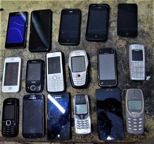 telemóveis para reparar ou peças / diversos