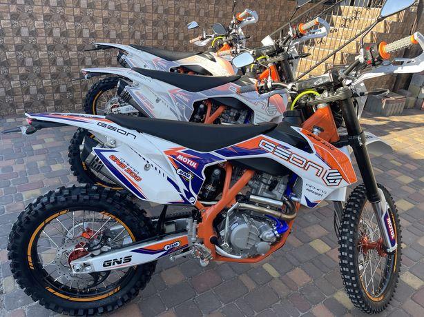 Акція доставка 0 грн, мотоцикл Geon Dakar GNS 300 4v 2021