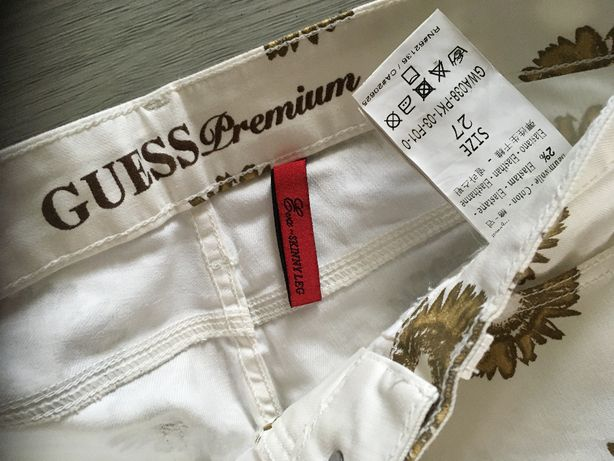 Guess premium spodnie rozmiar 27