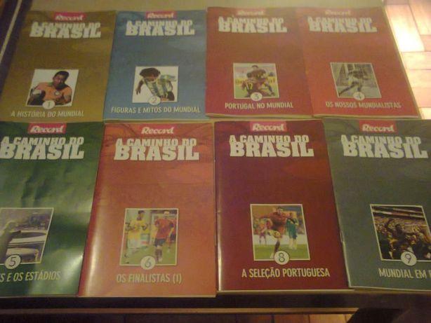 """Colecção de livros """" A Caminho do Brasil"""""""