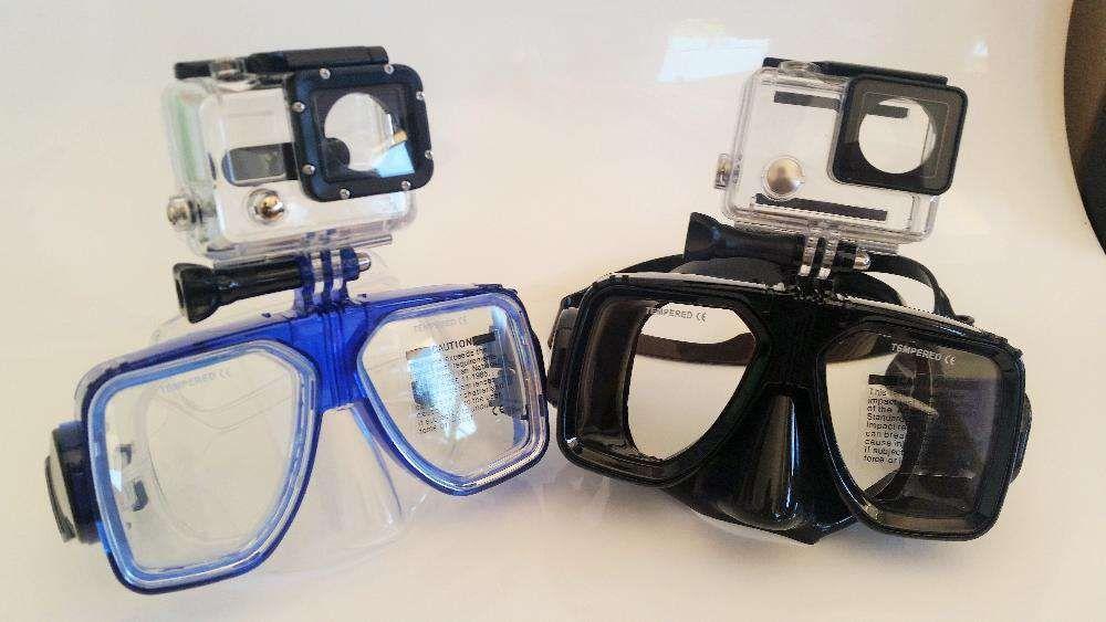 Óculos de mergulho para Gopro SJCAM Xiaomi Pretos-Novo - Portes Gratis Faro - imagem 1