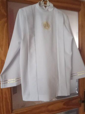 sprzedam albę Komunia Św rozm 152cm Parafia Dobrego Pasterza
