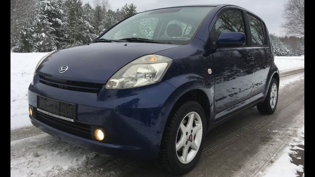 Daihatsu Sirion 1.3, ideał z Niemiec,2kpl.kół, Po serwisie!
