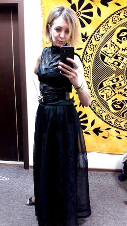 bluzka LF LEFON 36 38 40 max elegancji kakatytostyle38 vintage gotyk m