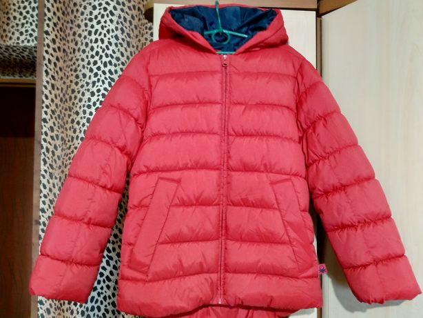 Качественная куртка Benetton (Италия). Размер 140 (8-9лет)