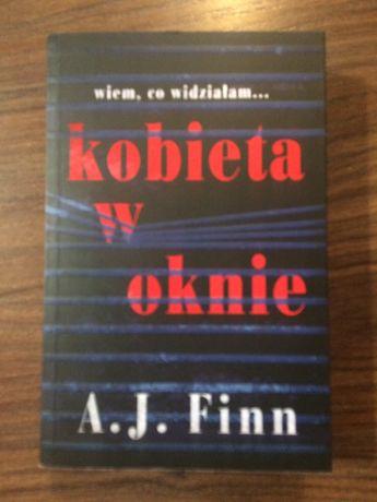 Kobieta w oknie. A.J.Finn. Sensacja/kryminał